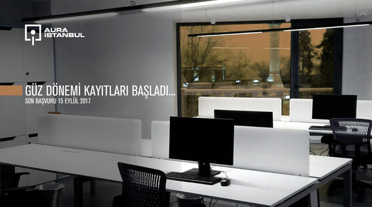 AURA-İstanbul Güz Dönemi Başvuruları Başladı