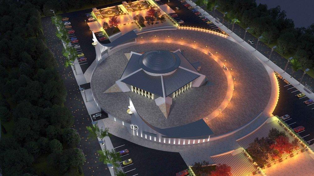 Sivas'ta Ayyıldızlı Camisi'nin Temeli Atıldı