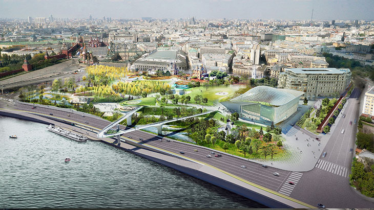 Moskova'nın Yeni Kent Parkı: Zaryadye Park