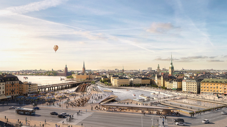 Stockholm'ün Yeni Toplanma Noktası: Mälarterrassen