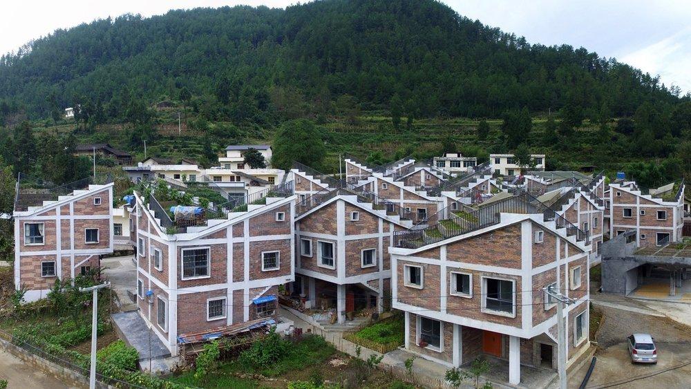 Çin'de Barınma Sorununa Çatı Bahçeli Konut Çözümü