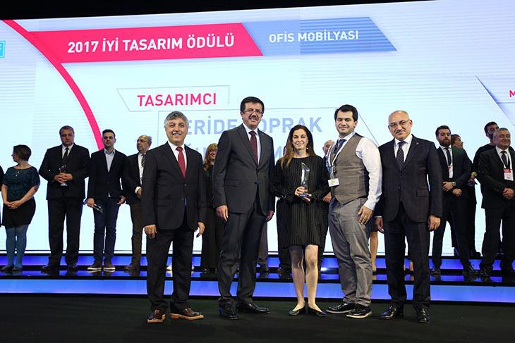 """Ersa'ya Design Turkey 2017'den """"İyi Tasarım"""" Ödülü"""