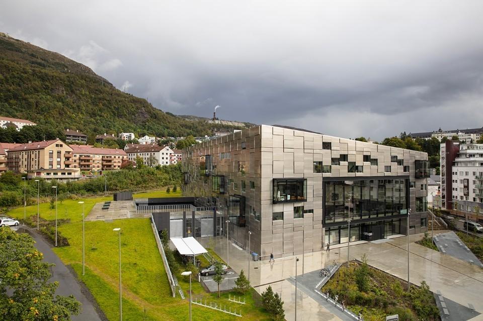 Bergen Sanat Akademisi'ne Snøhetta'dan Yeni Bina