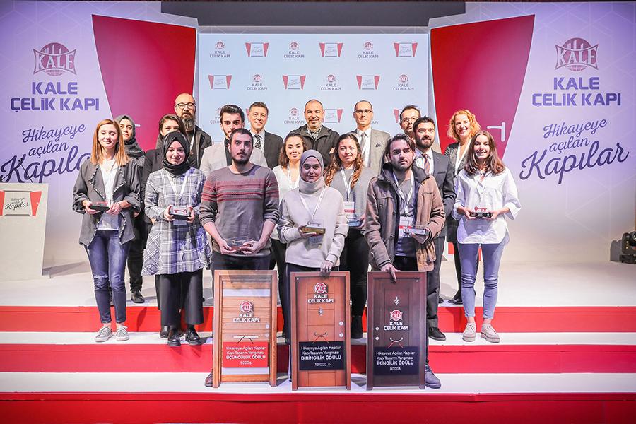 """""""Hikâyeye Açılan Kapılar"""" Kapı Tasarım Yarışması'nda Ödüller Sahiplerini Buldu"""