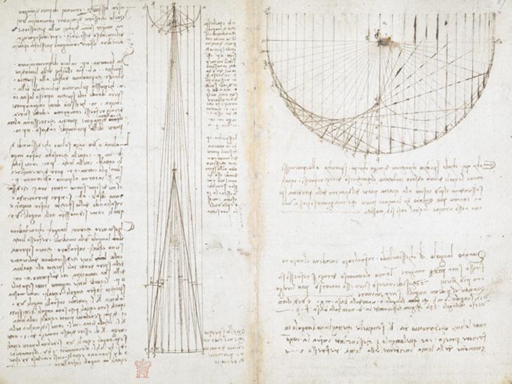 Leonardo da Vinci'ye Ait El Yazmaları Dijital Platformda