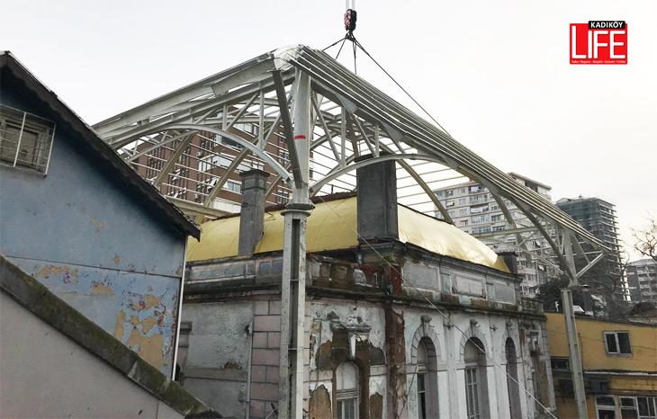 Göztepe Tren İstasyonu'na Dev Koruma Kubbesi
