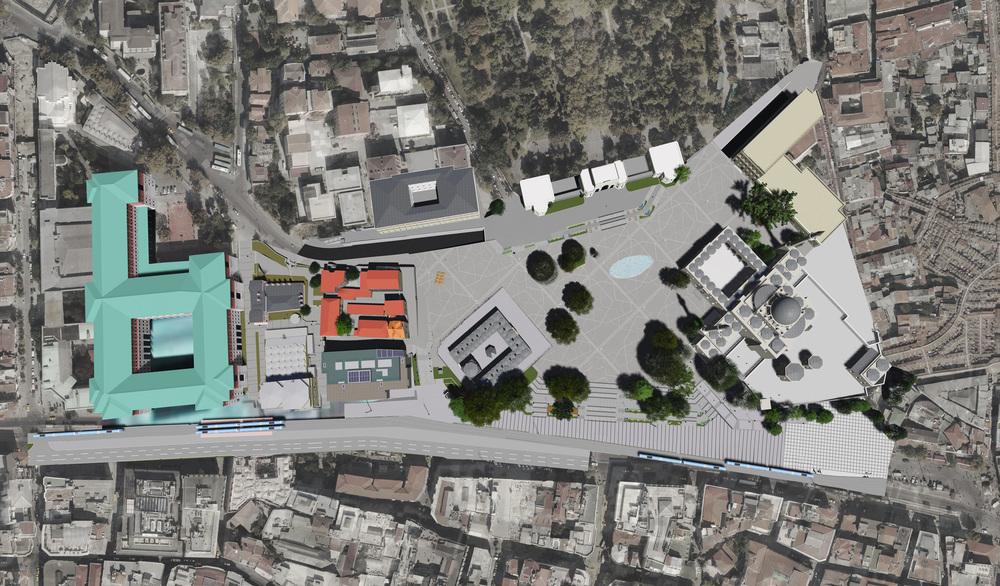 İstanbul Büyükşehir Belediyesi Beyazıt Meydanı ve Çevresini Yeniden Düzenliyor