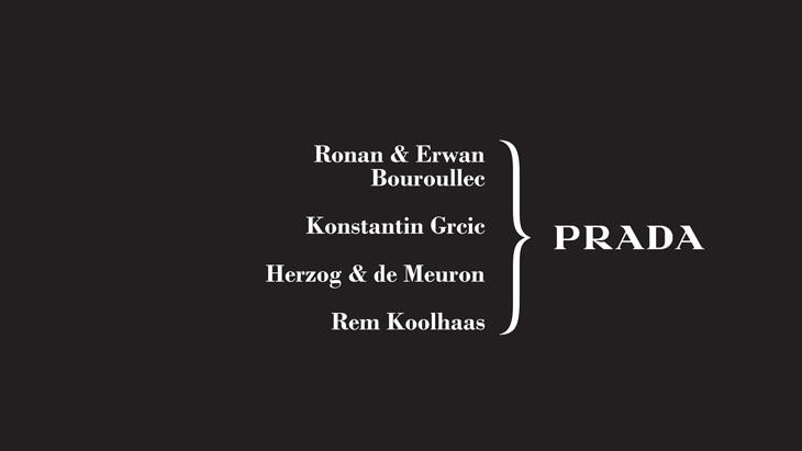 Herzog & de Meuron ve Rem Koolhaas'tan Prada'nın İkonik Kumaşına Yeni Yorum