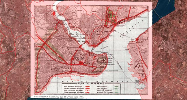 Haritalar ile İstanbul'un Evrimi