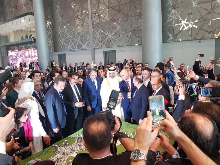 Emlak Konut GYO, Kanal İstanbul Yatırım Fırsatlarını Expo Turkey by Qatar Fuarı'nda Anlattı