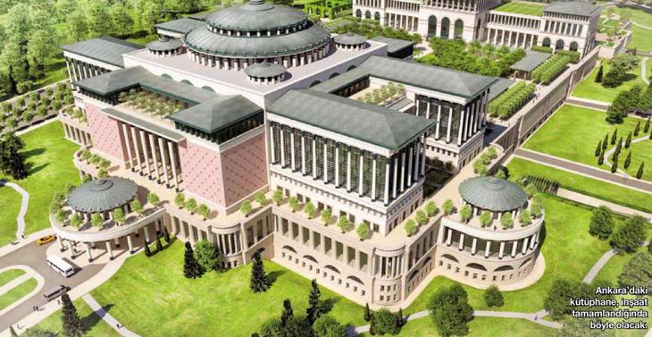 Beştepe Külliyesi'ne Türkiye'nin En Büyük Kütüphanesi