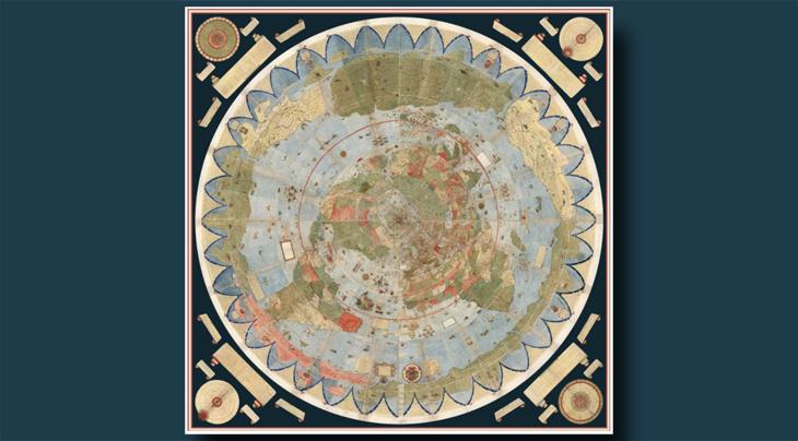 Urbano Monte'nin Dünya Haritası Erişime Açıldı