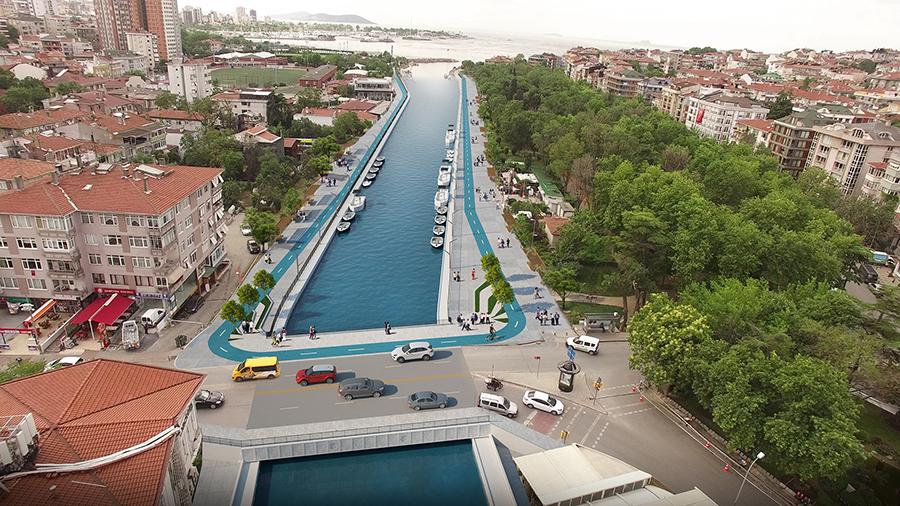 Kurbağalıdere Köprüsü Trafiğe Açıldı