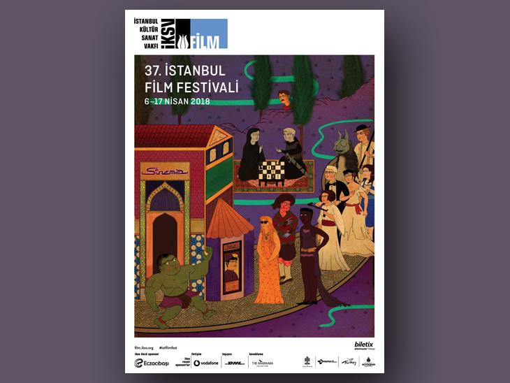 İstanbul Film Festivali Afişlerinde Murat Palta İmzası