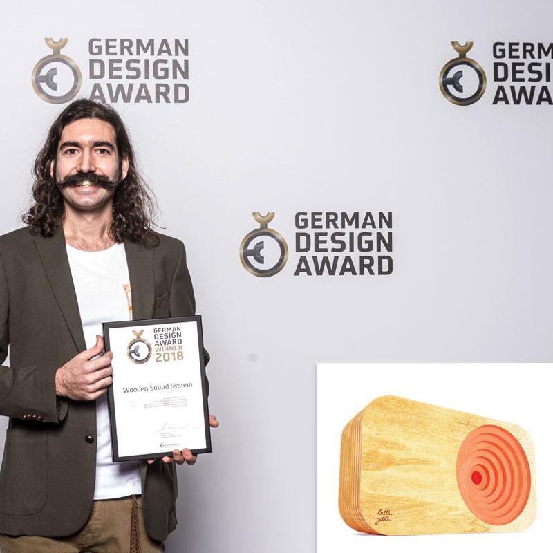 Bitti Gitti Ahşap Ses Sistemi'ne German Design Awards'tan Ödül