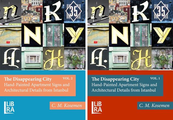 İstanbul'un El Yapımı Tabelaları Kitaplaştı