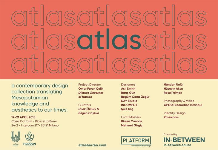 """Harran, """"atlas"""" ile Milano Tasarım Haftası'nda"""
