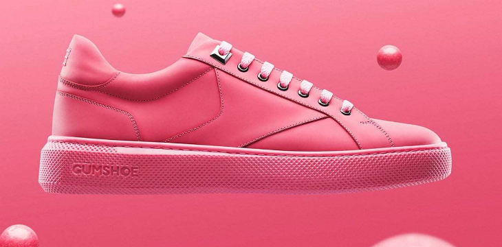 Amsterdam'da Sakızdan Spor Ayakkabı Üretildi