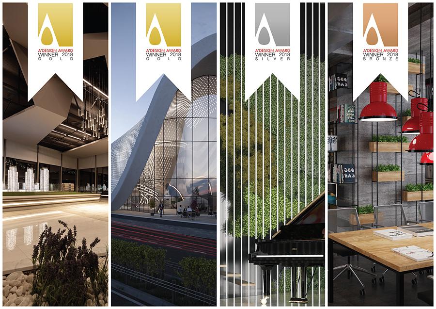 Arkiteam Mimarlık A Design Awards'tan 4 Ödülle Döndü
