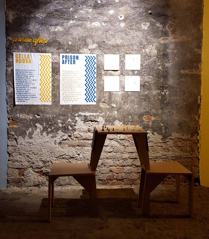 Opera Hapishanesi İçin Mobilya Tasarımları