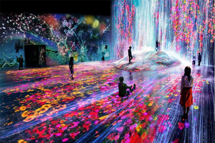 Tokyo'da Dijital Sanat Müzesi Açıldı