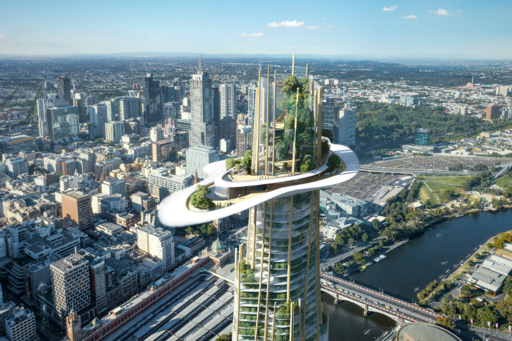 MAD Architects'in Yeni Projesi, Melbourne'un Simgesi Olmaya Aday