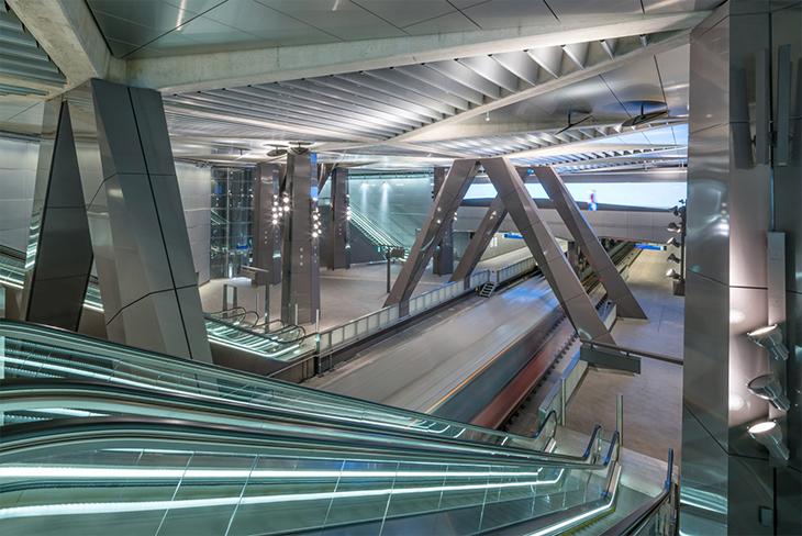 Amsterdam'da Benthem Crouwel Tasarımı Yeni Metro Hattı Açılıyor
