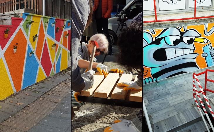 Lüleburgaz Sokakları Kent Atölyesi ile Renklendi