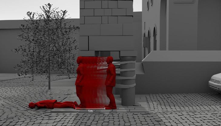 Forensic Architecture'ın Tahir Elçi Ölümü ile İlgili Görsel-İşitsel Veri Analizi