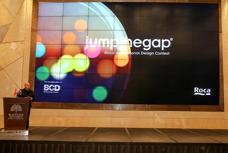 Roca, jumpthegap® (talk)'u İstanbul'da Düzenledi