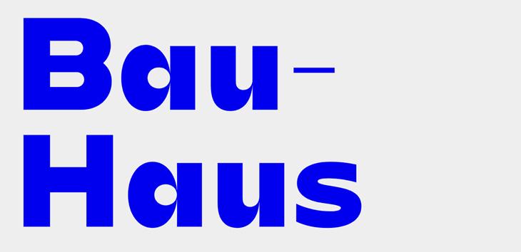 Bauhaus Tipografisinin Yaşadığını Kanıtlayan Yazı Tipleri