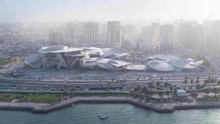 Jean Nouvel'in İmzasını Taşıyan Katar Ulusal Müzesi 28 Mart'ta Kapılarını Açıyor