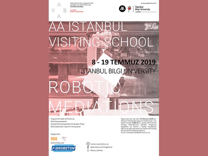 AA İstanbul Visiting School: Robotic Mediations