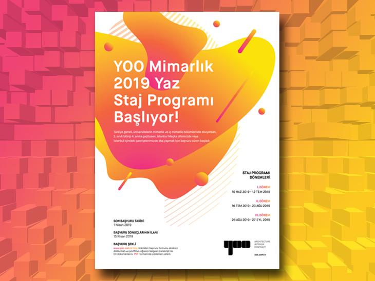 YOO Yaz Staj Programı İçin Başvurular Açıldı