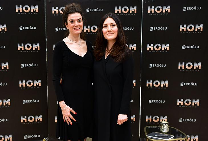 HOM Design Center Mimar Ayça Kadıoğlu'nu Ağırladı