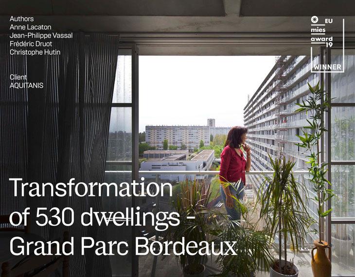 2019 Mies Ödülü Fransa'daki Sosyal Konut Projesinin Oldu