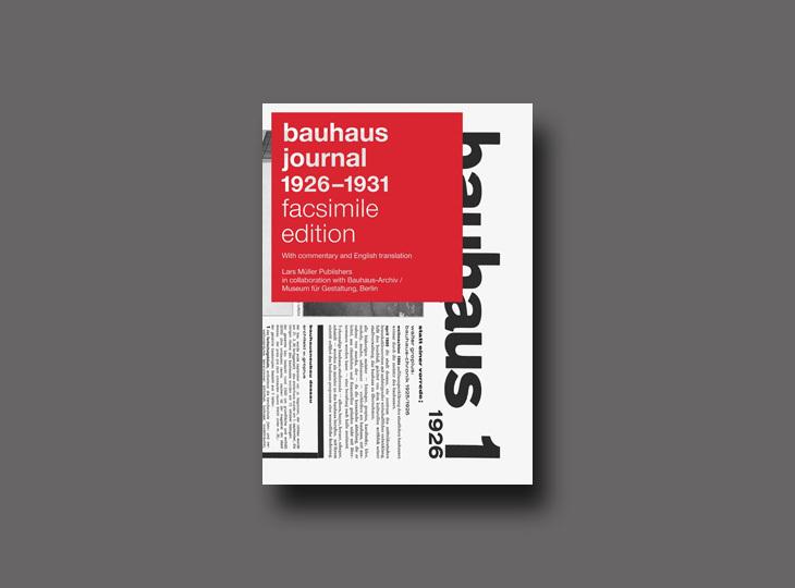 Bauhaus Journal, Lars Müller Publishers Tarafından Yeniden Basıldı