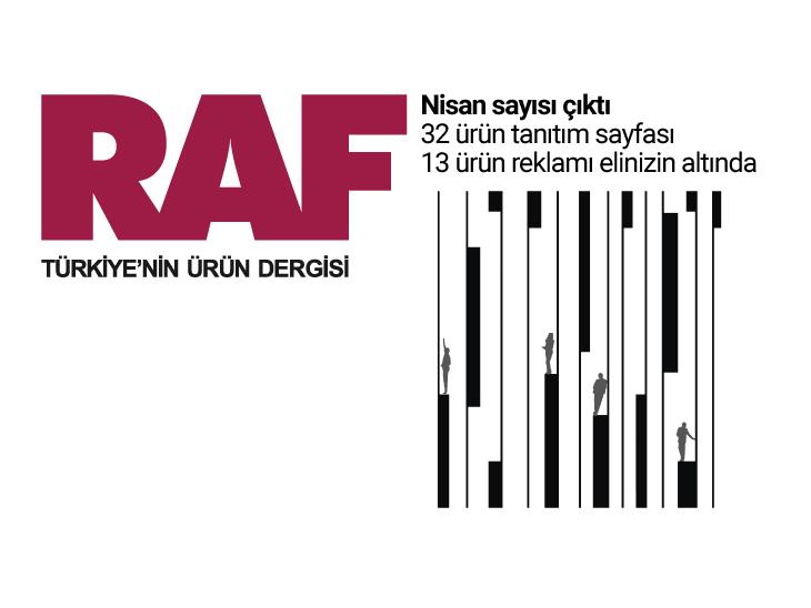 RAF Ürün Dergisi'nin 79. Sayısı Çıktı!
