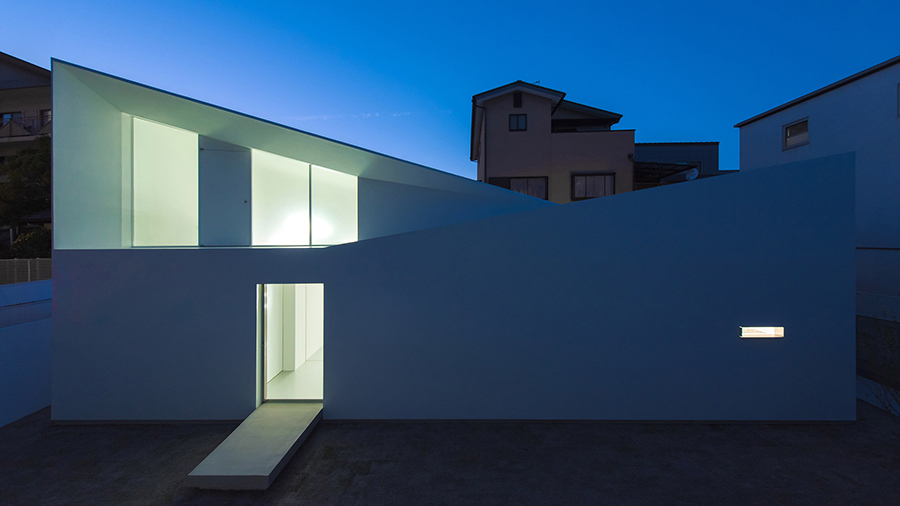 Japonya'da Möbius Şeridi Formunda Ev