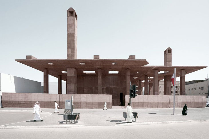 Al-Muharrak'ın İnci Yoluna Beton Üst Örtü Tasarımı