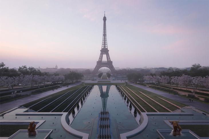 Eyfel Kulesi Çevresi İçin Yeni Masterplan