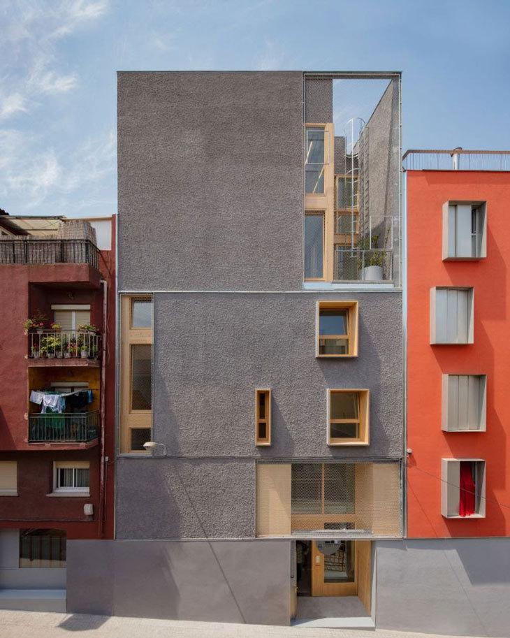 Katalan Sosyal Yardım Kuruluşuna Yeni Bina