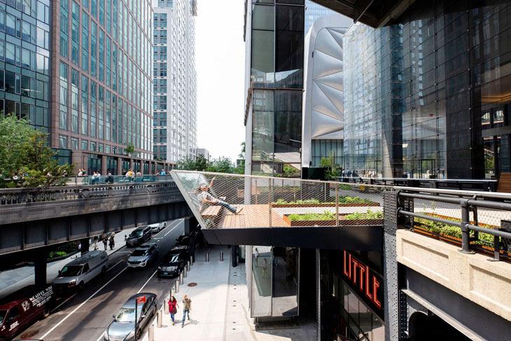 High Line'ın Son Bölümü Kullanıma Açıldı