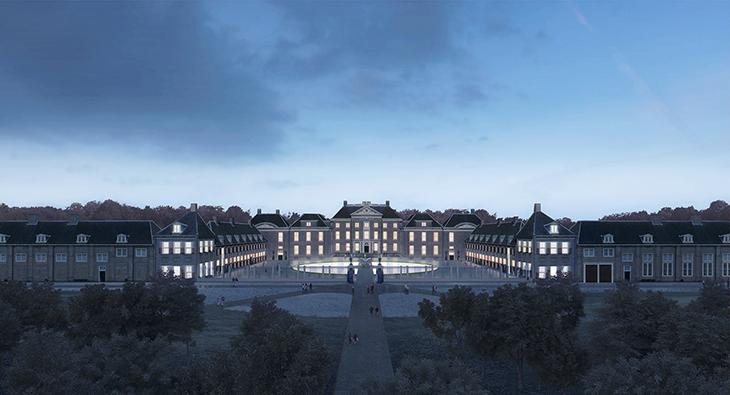 Het Loo Sarayı'nın Restorasyon ve Genişletme Projesi için KAAN Architecten Seçildi