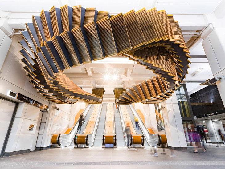 Yürüyen Merdivenle Yerleştirme: interloop