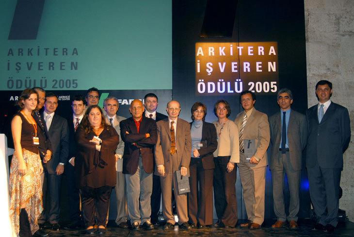 """Türkiye'nin İlk """"İşveren Ödülü"""" Sahiplerini Buldu"""