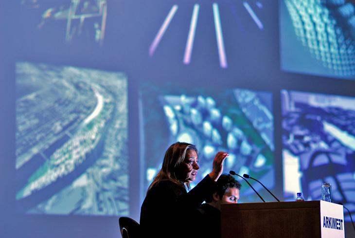 Zaha Hadid'le Katmanlar, Mekanlar ve Kentler Üzerine Bir Deneyim