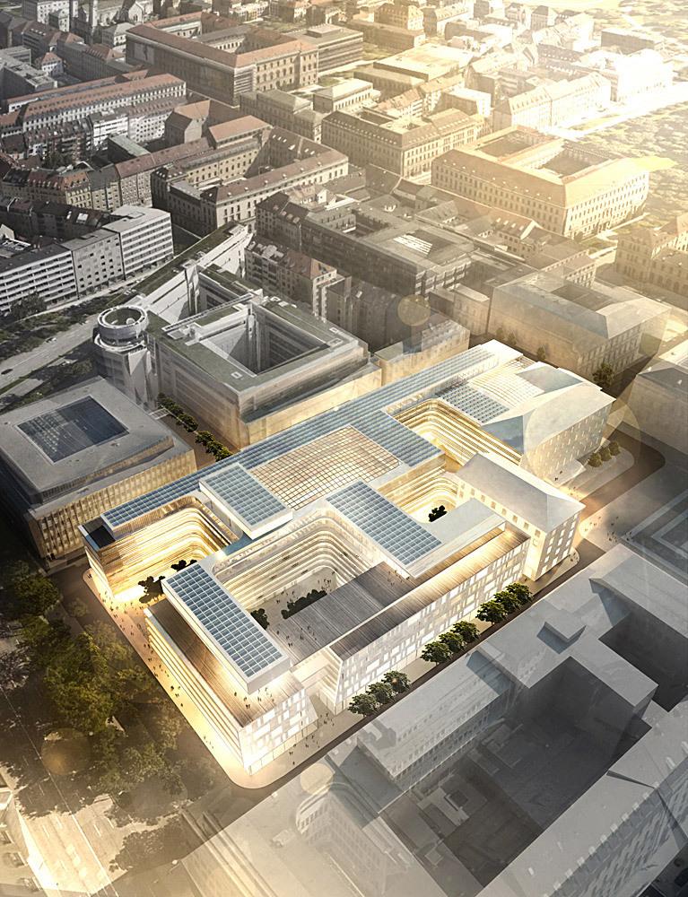 Henning Larsen Architects Siemens Genel Merkez Yarışması'nı Kazandı