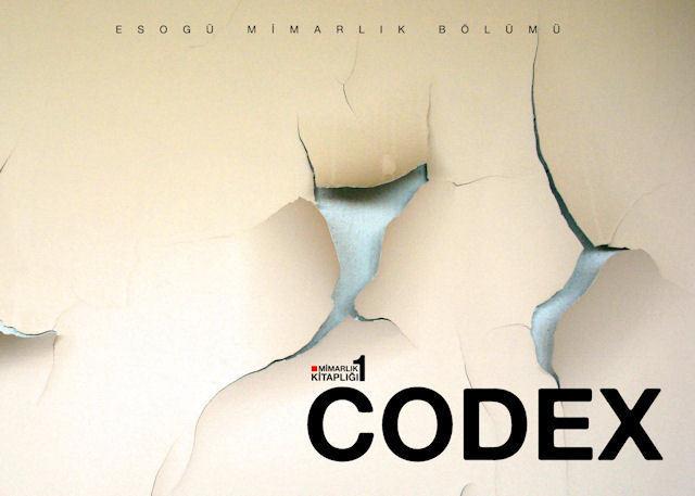 CODEX Mimarlık Kitaplığı'nın İlk Kitabı