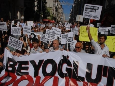 'Beyoğlu rant kokuyor'